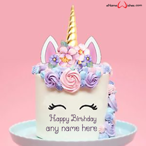 Generator Birthday Cake Name With 3d