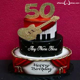 50th-birthday-Name-Cake