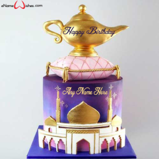 Aladdin-Magic-Lamp-Birthday-Cake