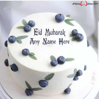 Amazing-Blackberry-Eid-Wish-Name-Cake