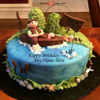 Amazing-Camping-Birthday-Wish-Name-Cake