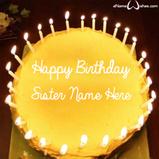 Amazing-Candles-Birthday-Wish-Name-Cake-for-Sister