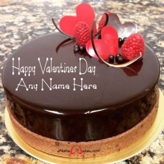 Amazing-Chocolate-Name-Cake-for-Valentine-Wish