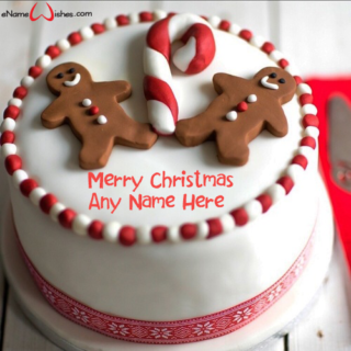 Amazing-Christmas-Celebration-Cake-with-Name
