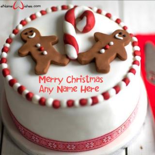 Amazing-Christmas-Celebration-Cake-with-Name