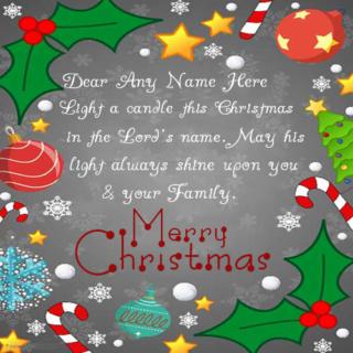 Amazing-Christmas-Wish-Name-Cake
