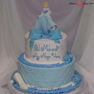 Amazing-Eid-Mubarak-Cinderalla-Name-Cake