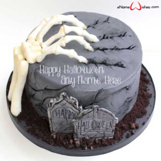 Amazing-Halloween-Wish-Name-Cake
