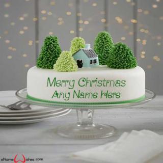 Amazing-Merry-Christmas-Cake-with-Name