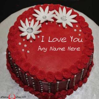 Amazing-Red-Velvet-Love-Wish-Name-Cake