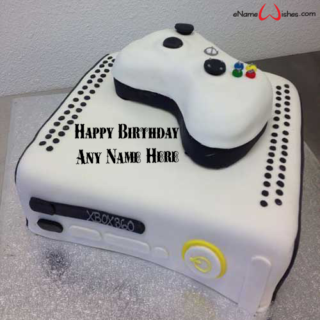 Amazing-Xbox-Birthday-Wish-Name-Cake