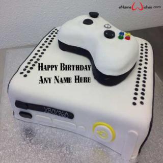 Amazing-Xbox-Birthday-Wish-Name-Cake
