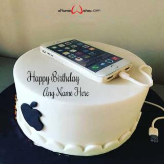 Apple-iphone-Birthday-Wish-Name-Cake