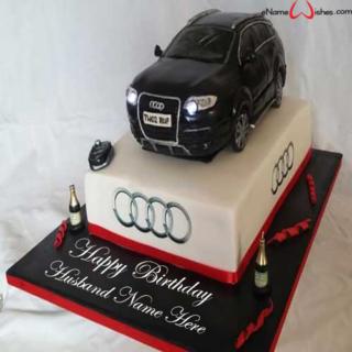 Audi-Q7-Car-Name-Cake