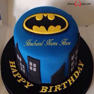 Batman-Birthday-Name-Cake