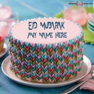 Beautiful-Eid-Wish-Name-Cake