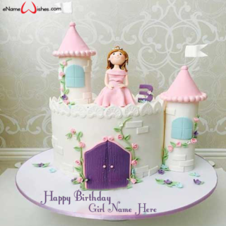 Beautiful-Princess-Birthday-Name-Cake