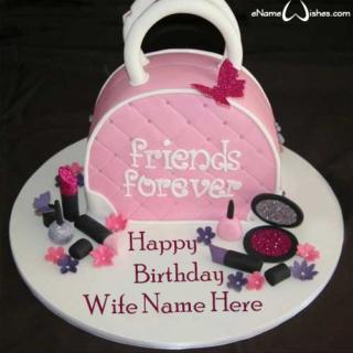 Beautiful-Purse-Birthday-Name-Cake
