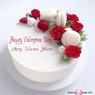Beautiful-Rose-Name-Cake-for-Valentine-Day