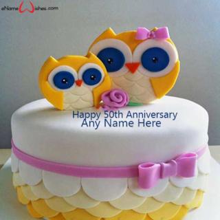 Best-5oth-Anniversary-Wish-Name-Cake