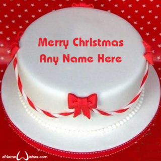 Best-Christmas-Wish-Cake-with-Name