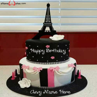Best-Eiffel-Tower-Anniversary-Wish-Name-Cake