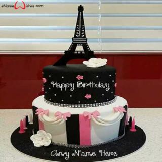 Best-Eiffel-Tower-Anniversary-Wish-Name-Cake