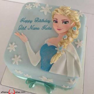 Best-Frozen-Birthday-Wish-Name-Cake-for-Girls