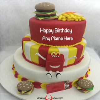 Best-Mc-Donald-Birthday-Wish-Name-Cake