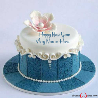 Best-New-Year-Celebration-Pearl-Cake-with-Name