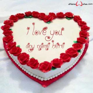 Best-Red-Rose-Love-Wish-Name-Cake