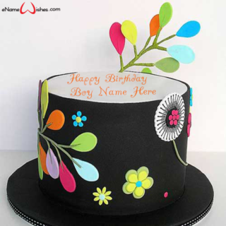 Birthday-Wish-Cake-for-Boy-with-Name