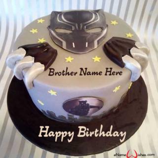Black-Panther-Name-Birthday-Cake