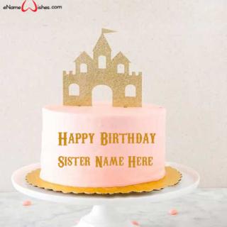 Castle-Top-Birthday-Wish-Cake