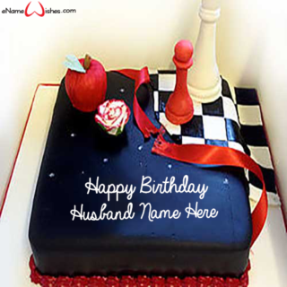 Chess-Name-Birthday-Cake-for-Husband
