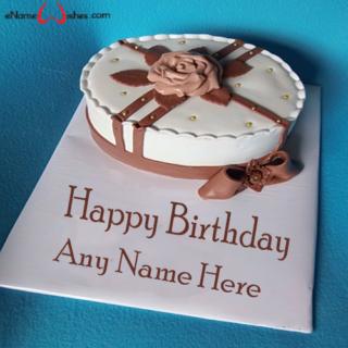 Chocolate-Flower-Birthday-Name-Wish-Cake