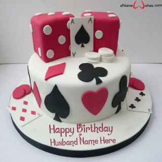 Classic-Casino-Birthday-Name-Cake