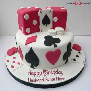 Classic-Casino-Birthday-Name-Cake