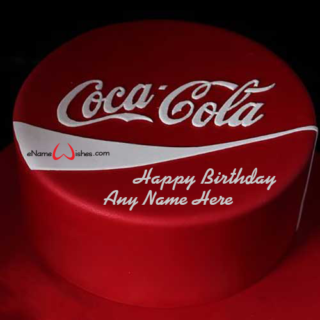Coca-Cola-Birthday-Name-Cake