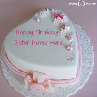 Cool-Heart-Birthday-Wish-Name-Cake-for-Sister
