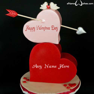 Cool-Heart-Valentines-Day-Cake-Wish-with-Name