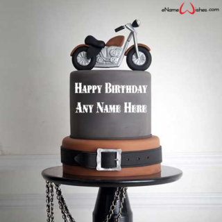 Cool-Motorcycle-Birthday-Name-Cake