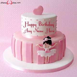Cute-Doll-Birthday-Name-Cake
