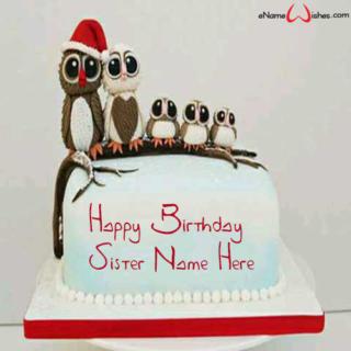 Cute-Owl-Birthday-Wish-Cake