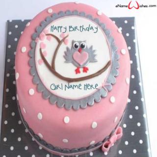 Cute-Owl-Birthday-Wish-Name-Cake-for-Girl