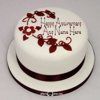 Cute-Wedding-Decorations-Name-Wish-Cake
