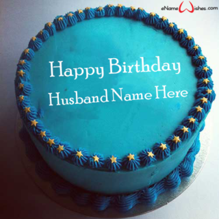 Decorated-Birthday-Name-Cake-for-Husband
