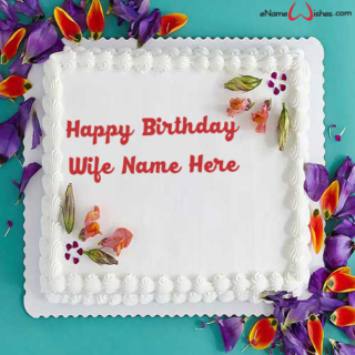 Decorated-Birthday-Name-Cake-for-Wife