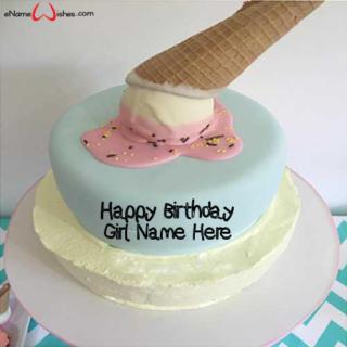 Decorated-Ice-cream-Name-Wish-Birthday-Cake