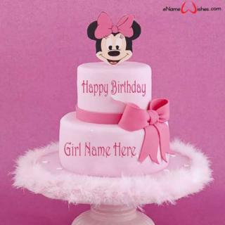 Disney-Themed-Girl-Birthday-Cake